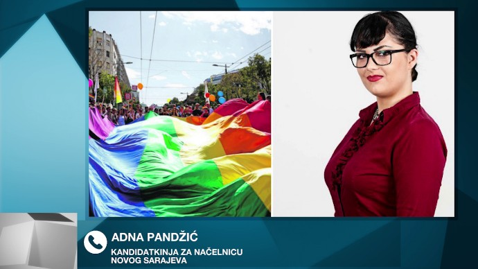 source.ba | Paradu ponosa nazvala 'paradom stida', pa kažnjena sa 3.000 KM:  Pitali smo Adnu Pandžić hoće li platiti kaznu
